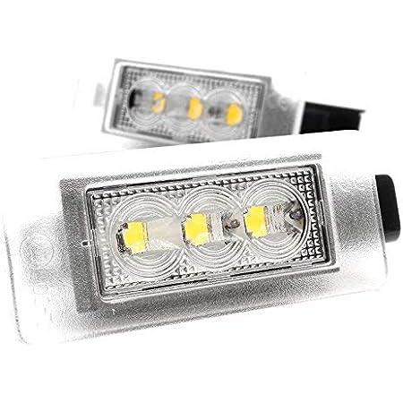 Lightdelux Ersatz Für Led Kennzeichenbeleuchtung Canbus Mit Zulassung V 032007 Auto
