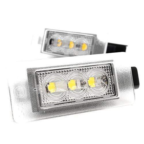 Éclairage de plaque minéralogique à LED, avec homologation V-032007
