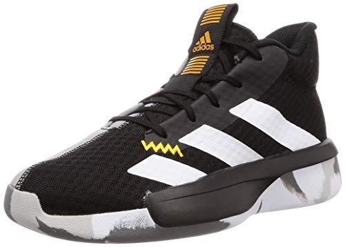Adidas Pro Next 2019 K, Zapatillas de Baloncesto Unisex niño, Multicolor (Negbás/Ftwbla/Oroact 000), 32 EU