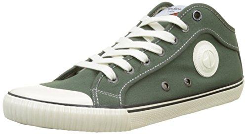 Pepe Jeans London Herren Industry 1973 Sneaker, Grün (Stout), 43 EU