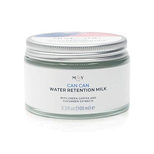 Mum & You Can Can Water Retention Milk Cream w/Green Coffee & Cucumber Extract, Eco-Friendly, Pregnancy Safe, Dermatologist Tested, Suitable for Sensitive Skin, Vegan & Cruelty Free, 3.3 oz, 1 ea.