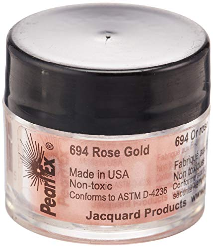 Jacquard Products Jacquard Pearl Ex Powdered Pigment 3G Rose Gold, Acrylic, Multicolour