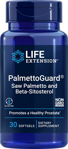PalmettoGuard Beta-sitosterol (30 SGels) Life Extension