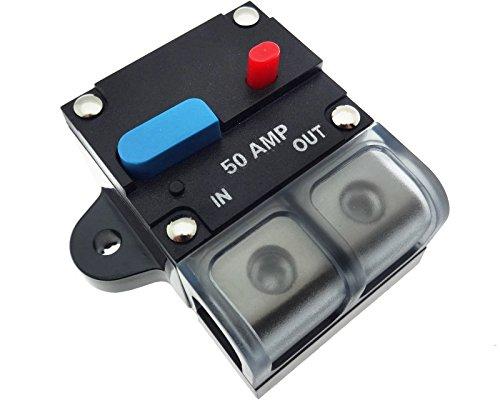 50 A Automatik Automatische Sicherung Halter Auto Boot Photovoltaik 12V 24V 48V