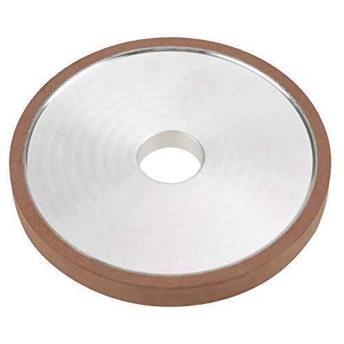 Cortador de muela abrasiva - 1 Uds 100 * 20 * 10mm Disco de muela abrasiva de resina de diamante para amoladora de corte, grano de pulido 150
