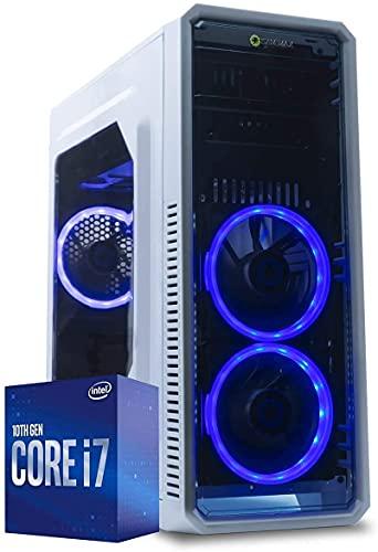 MAK OFFICE P - PC Desktop Intel i7 10700 8 Core 4,80GHz Turbo,SSD NVMe 500GB,RAM 16GB DDR4,CD-DVD,COMPUTER DA Ufficio Casa,Hdmi,+ Wifi,WINDOWS 10,Pc assemblato I7 Per Commercialisti