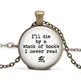 Buch Schmuck, I 'll sterben von einem Stapel von...