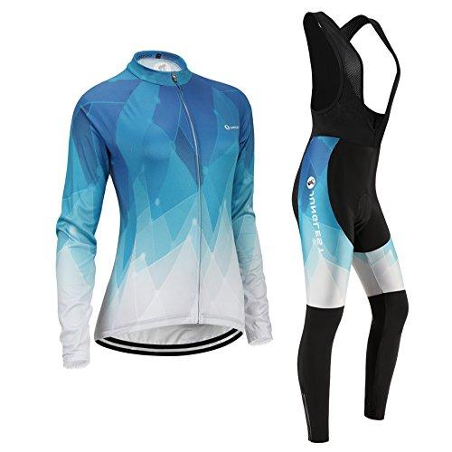 (Cojín 3D)(traje(strap negro) tamaño:XXXL) Moda mujer de manga rompevientos Jerseys rendimiento para los sudo larga maillot ropa chaleco transpirable ciclismo