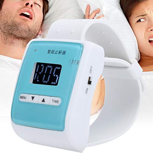 Brrnoo Pulsera antirronquidos, Dispositivo de Reloj de Pulsera antirronquidos Ajustable Inteligente para el hogar electrónico tapón de ronquido