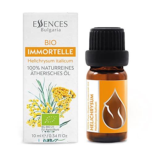 BIO Immortelle (Helichrysum italicum) 100% naturreines, ätherisches Öl (10ml) Bio Immortelle-Öl, Spitzenqualität aus dem eigenen Familienbetrieb, therapeutische Qualität,...
