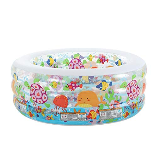 yaunli Piscina Inflable Piscina for niños Inflable Familiar Piscina Océano Ball Pool Bath Jardín Piscina Inflable (Color : Multi-Colored, Size : One Size)