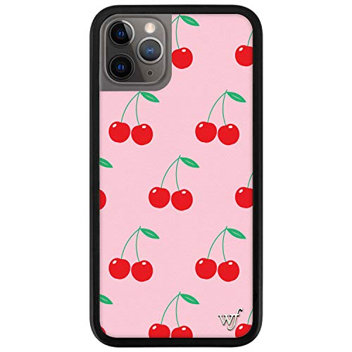 Wildflower Limited Edition Cases for iPhone 11 Pro (Pink Cherries)
