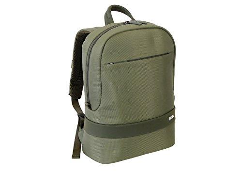 NAVA Day Pack - Zaino Porta Computer e Porta Tablet Verde Scuro