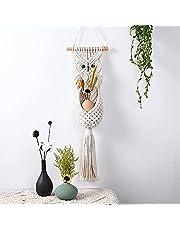 WANBAO Beautiful Pendant Efemeral búho Encaje Mano Tejido Colgante tapicería Tassel Bohemian Sala de Estar doméstico mobiliario loikktg (Color de) (Color : from)