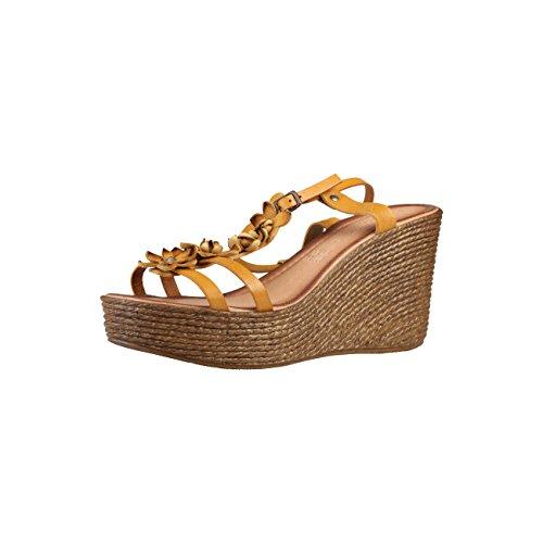 Primadonna SP2391_BPEL_Gia Sandali Wedges, sandali da donna, colore: giallo, misura 40, Giallo (giallo.), 40 EU