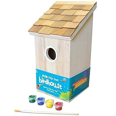GARDEN BAZAAR HB-9075DYO Design Your Own Bird House - Neutral from GARDEN BAZAAR