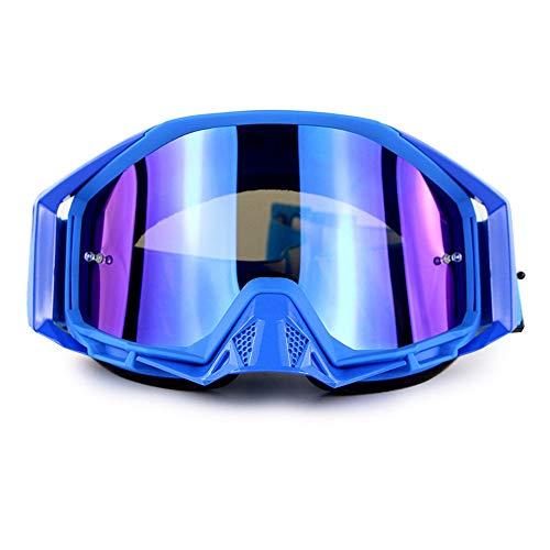 Lunettes de Ski de Snowboard Protection UV Anti-buée Lunettes de Ski de Snowboard Ventilation améliorée Coupe-Vent pour Homme,Femmes,Compatible avec Le Casque Lunettes de Neige,E