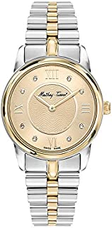 Mathey Tissot Casual Watch For Women Analog Stainless Steel - D1086BDI