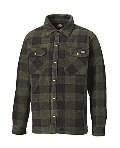 Dickies Herren Holzfällerhemd mit Steppfütterung (Grün,M)