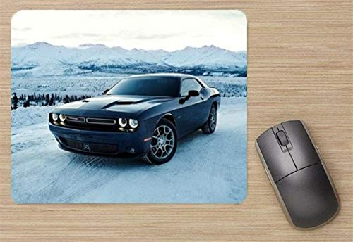 Dodge Challenger GT AWD 2017 Mouse Pad, Printed Mousepad