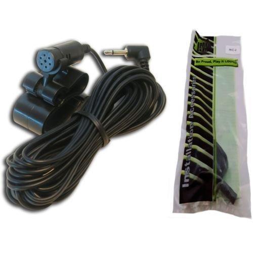 Microphone for Kenwood DDX9704S DDX9705S DDX9902S DDX9904S DDX9905S DMX7705S DMX905S DNX571TR DNX572BH DNX574S DNX575S DNX691HD DNX692 DNX694S DNX874S DNX875S DNX994S DNX995S
