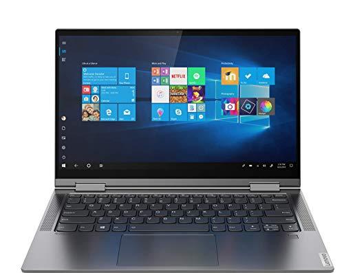 Lenovo Yoga C740-14IML Convertible 14  Tactile Full HD Gris Métalisé (Intel Core i5, 8Go RAM, Stockage 256Go, Windows 10) + Stylet Ancien Modèle