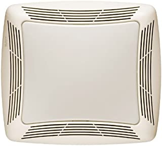 Broan-Nutone  769RFT  Fan and Light Combo for Bathroom and Home, Light with Transparent Polymeric Lens and Resin Grille, 3.0 Sones, 13-Watt Light, 70 CFM