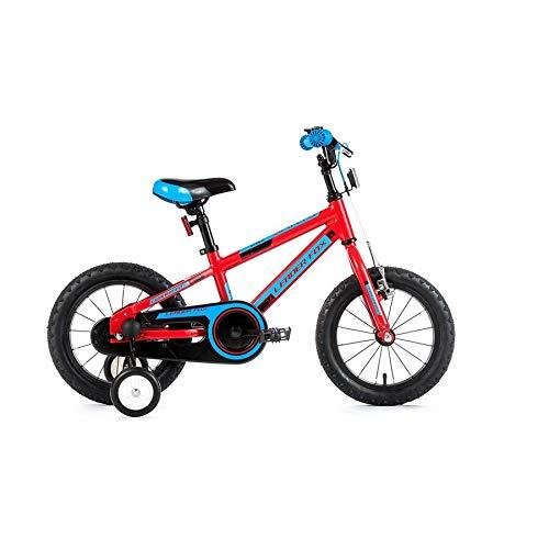 16 Zoll Alu Fahrrad Leader Fox Santo Boy rot/blau Stützräder Rücktritt RH 24cm