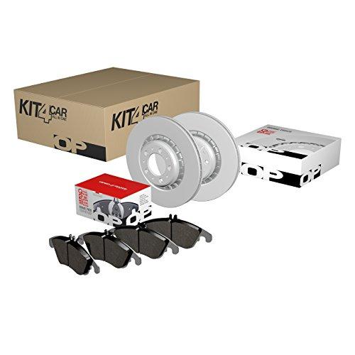 Open Parts kfb0043Kit frenos Delantero Juego de pastillas y discos de freno