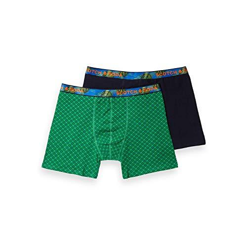 Scotch & Soda boxershorts voor heren, met bedrukte tailleband, boxershorts