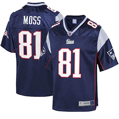 Mitchell & Ness Randy Moss New England Patriots Throwback Replica Jersey (XX-Large)