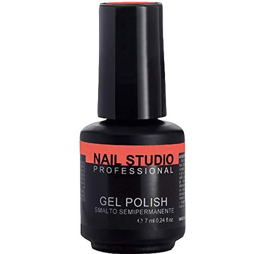 Nail Studio Professional - Gel Polish N.3 - Smalto Semipermanente Unghie - Smalto Gel per Unghie Effetto Diamante - Colore Intenso e Brillante, Distribuito...