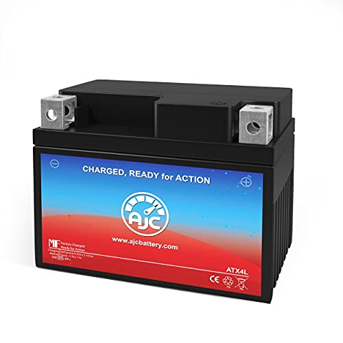MBK Evolis 80CC Motorcycle Replacement Battery (1994-1998) - This is an AJC Brand Replacement