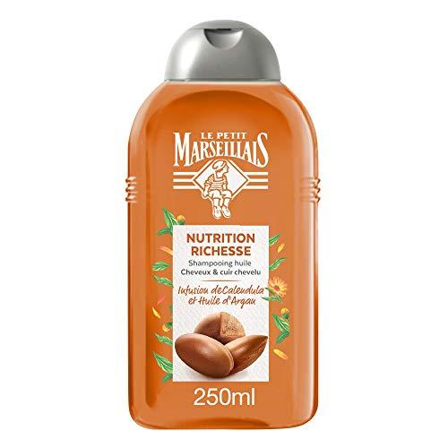 Le Petit Marseillais Shampoo mit Calendula und Argan Öl für sehr trockenes Haar 250 ml aus Frankreich