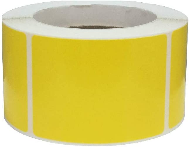 1 Pc Color Coding Low price Labels 2.5 Inch Adhesive 500 x Rectangles 3.5 New Free Shipping