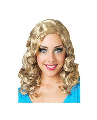 Horror-Shop perruque blonde bouclée glamour