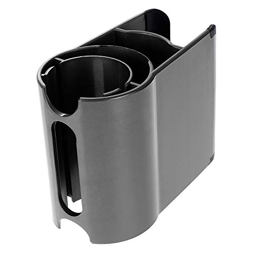 KEESIN Accessory Holder Attachment Clip, Non-Slip Accessories Holder Organiser Compatible with Dyson V11 V10 V8 V7 Vacuum Cleaner (Grey)