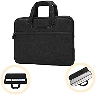 BUBM Handbag Laptop Briefcases Sleeve Compatible 12.3 inch Microsoft Surface Pro 6/5/ 4/3, 11-11.6 Inch MacBook Air, Ultrabook Notebook Tablet Water Repellent Bag with Accessory Pocket, Black