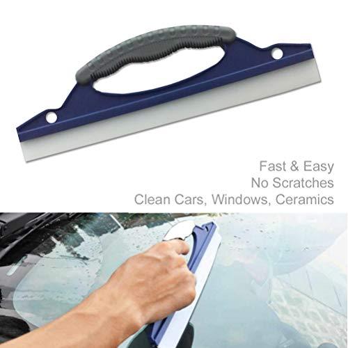 Schone Products (UK) - Lama flessibile per lavaggio auto, basso attrito, lama in silicone, rimuove l'acqua in eccesso, senza striature, facile da usare, pesa solo 100 grammi