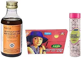 Kottakkal Arya Vaidya Sala Kayyanyadi Tailam - 200ML,With Free Dilbahars Yummy Digestives Aam Goli 90gm & Kalya Red Sandal...
