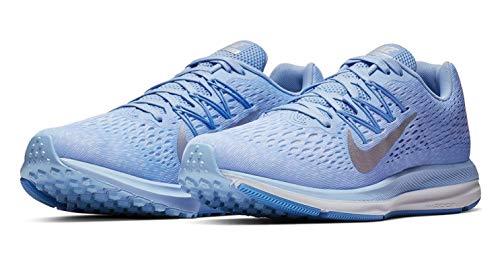 Nike Women's Zoom Winflo 5 Running Shoes (7.5 M US, Bright Crimson/Oil Grey)