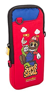 Super Mario Day of the Dead Switch Portable Protective Bag (Nintendo Switch) from Indeca