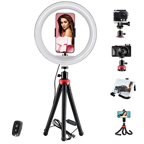 "Selfie Ring Light 10""with Cell Ph…"