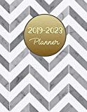 2019-2023 Planner: Monthly Schedule Organizer |Agenda Planner For The Next Five Years, Appointment Notebook, Monthly Planner, Action Day, Passion Goal Setting (5 year planner, Band 2)