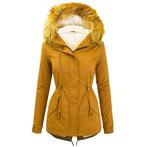 AILIEE Outwear Mode Solid Women Casual Dicker Winter Slim Coat Mantel Pullover Warme...