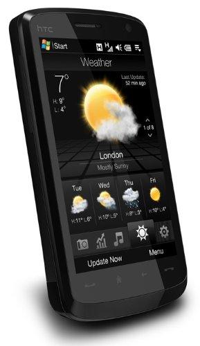 HTC Europe Touch HD Mobiltelefon UMTS/HSDPA schwarz