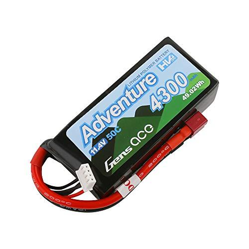 Gens Ace Adventure 4300mAh 3S 11,4V 50C Lipo Akku für 1:10 Crawler