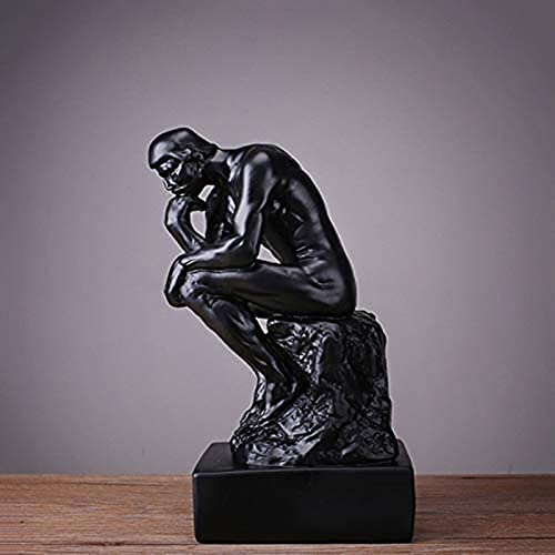 LULUDP Sculpture Obra de arte Decoración del hogar Ornamento Estatua Ser aplicable Compatible Sé aplicable Compatible Sé aplicable Compatible para el hogar Regalo Dedicrafts Decoración de mueb