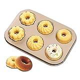Rosenstein & Söhne DonatMaker: 3 en 1 para donuts, cupcakes y cakepops con revestimiento antiadherente