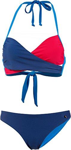 Maui Wowie Damen Bikini Set blau 34